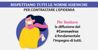 Norme igienico-sanitarie per il contrasto al Coronavirus