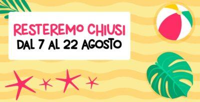 SenoClinic va in vacanza dal 7 al 22 agosto!