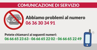 Telefono fuori servizio
